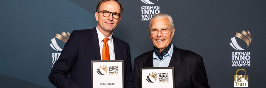 German Innovation Award 2019 for SelectTrust®